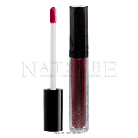 Rougj - Lip Gloss 01 Prugna - 6.5 ml | Labbra - Lip Gloss e Lip Pencil |  Erboristeria Natsabe: vendita online | erbe officinali, tisane, integratori